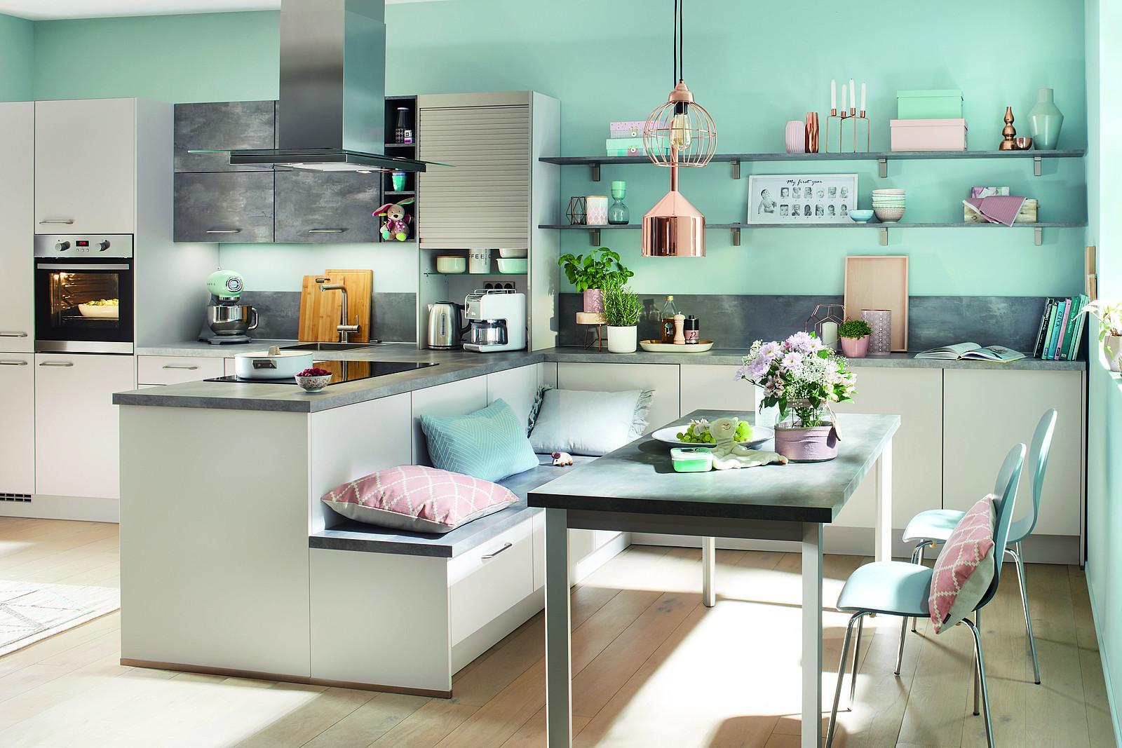Kleine Küche Mit Esstisch