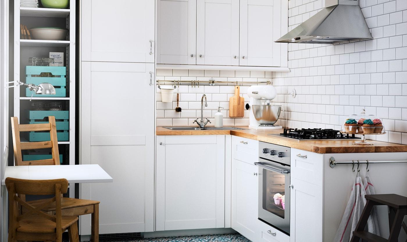Kleine Küche Einrichten Ikea