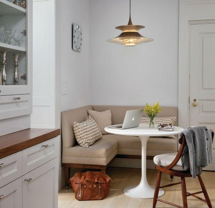 Kleine Küche Einrichten Sitzecke