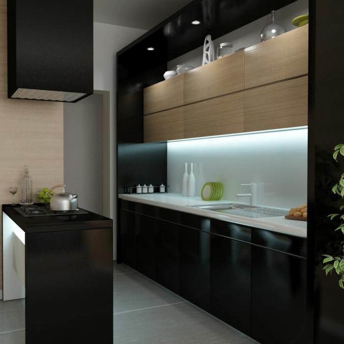Kleine Küchen Modern Einrichten