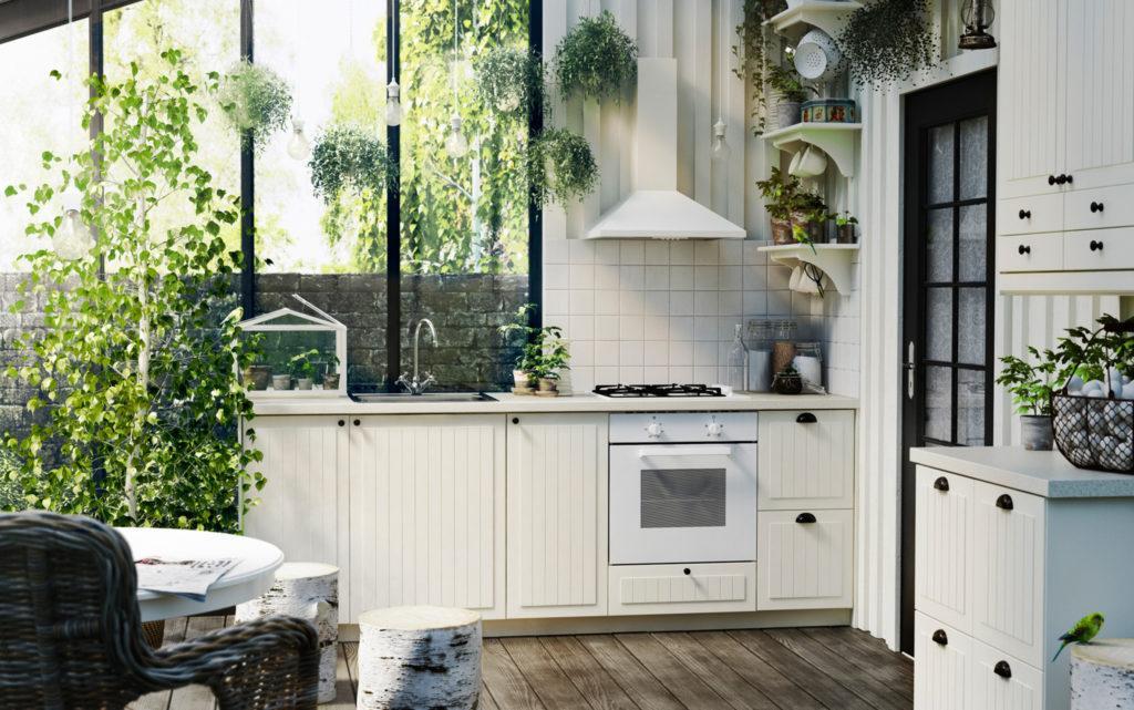 Kleine Küchenzeile Landhausstil