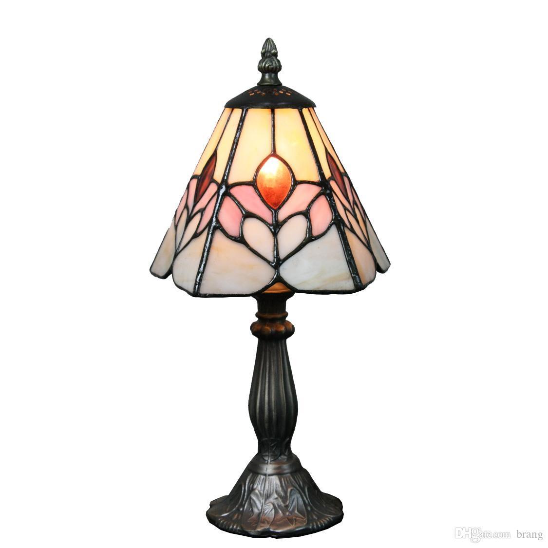 Kleine Tischlampe Vintage