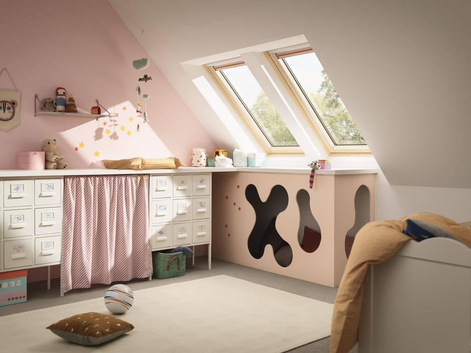 Kleine Zimmer Mit Dachschräge Farblich Gestalten