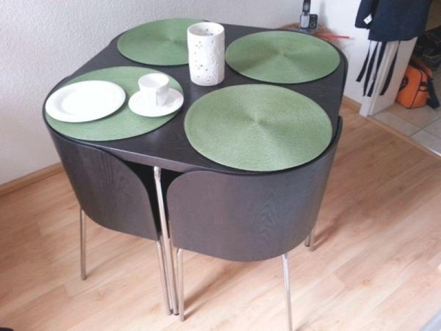 Kleiner Esstisch Mit Stühlen
