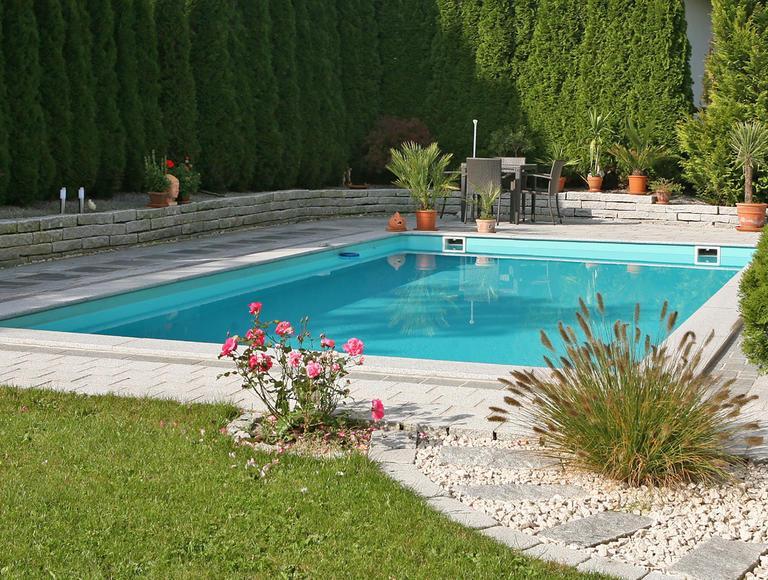 Kleiner Garten Pool Gestaltungsideen
