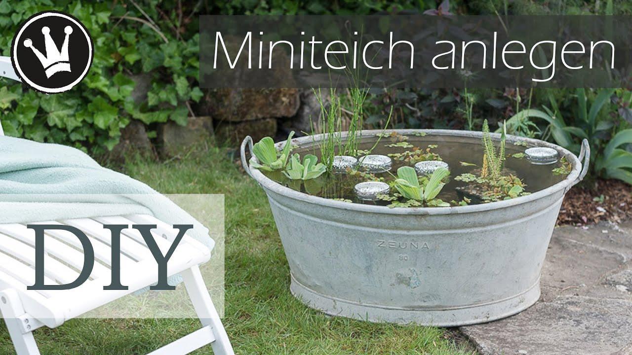 Kleiner Gartenteich Ideen