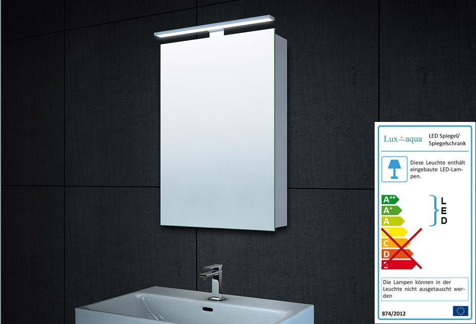 Kleiner Spiegelschrank Bad
