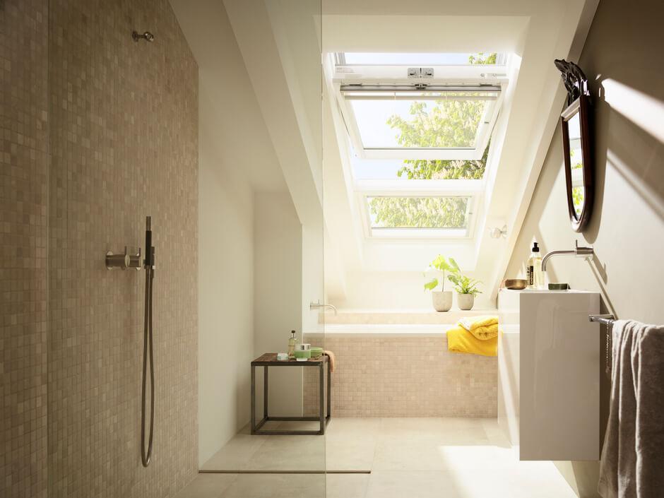 Kleines Bad Im Dachgeschoss