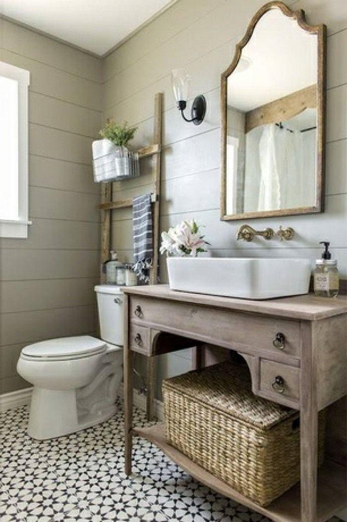 Kleines Badezimmer Landhausstil