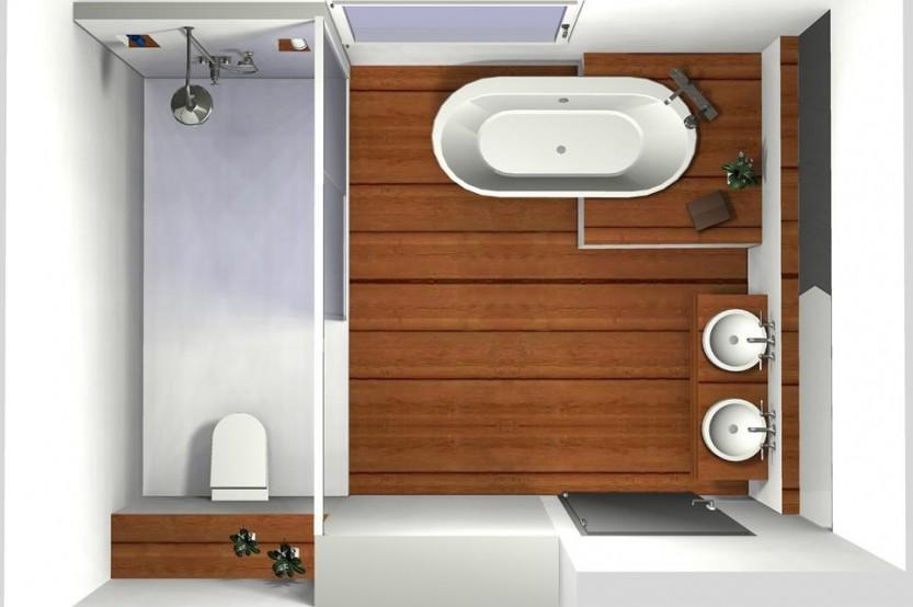 Kleines Badezimmer Mit Badewanne Einrichten