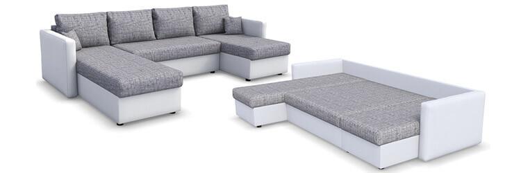 Kleines L Sofa Mit Schlaffunktion