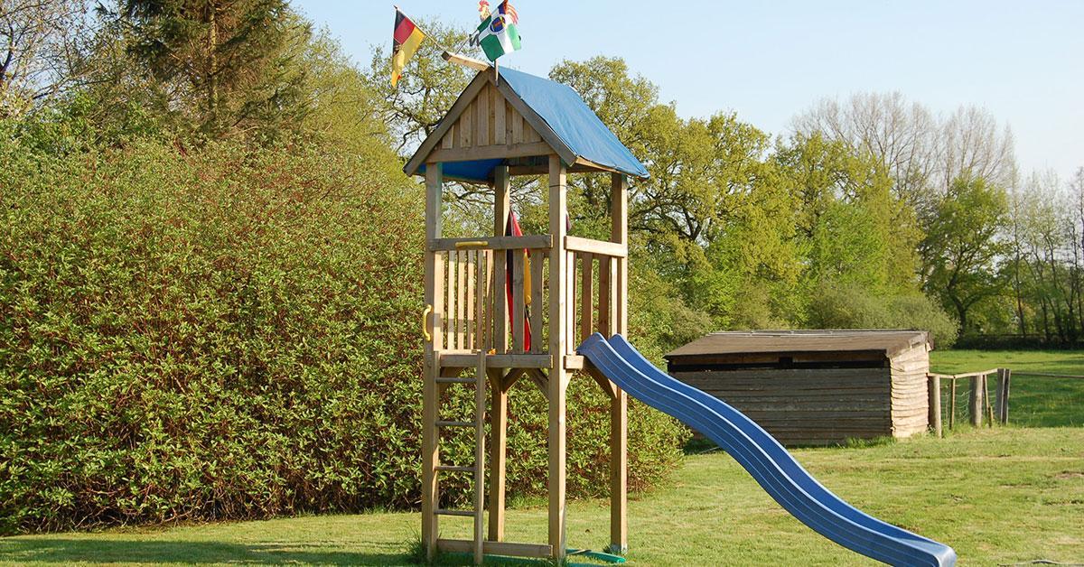 Kletterturm Garten Kinder