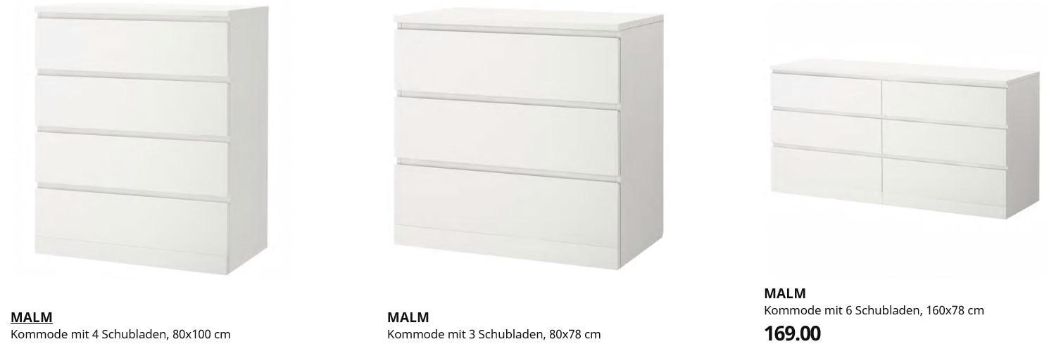 Kommode Ikea Weiß