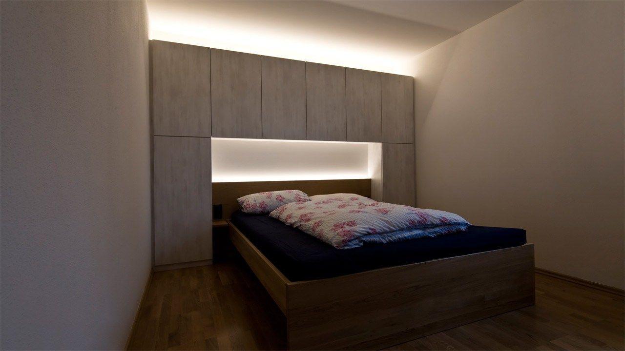 Komplett Schlafzimmer Mit überbau