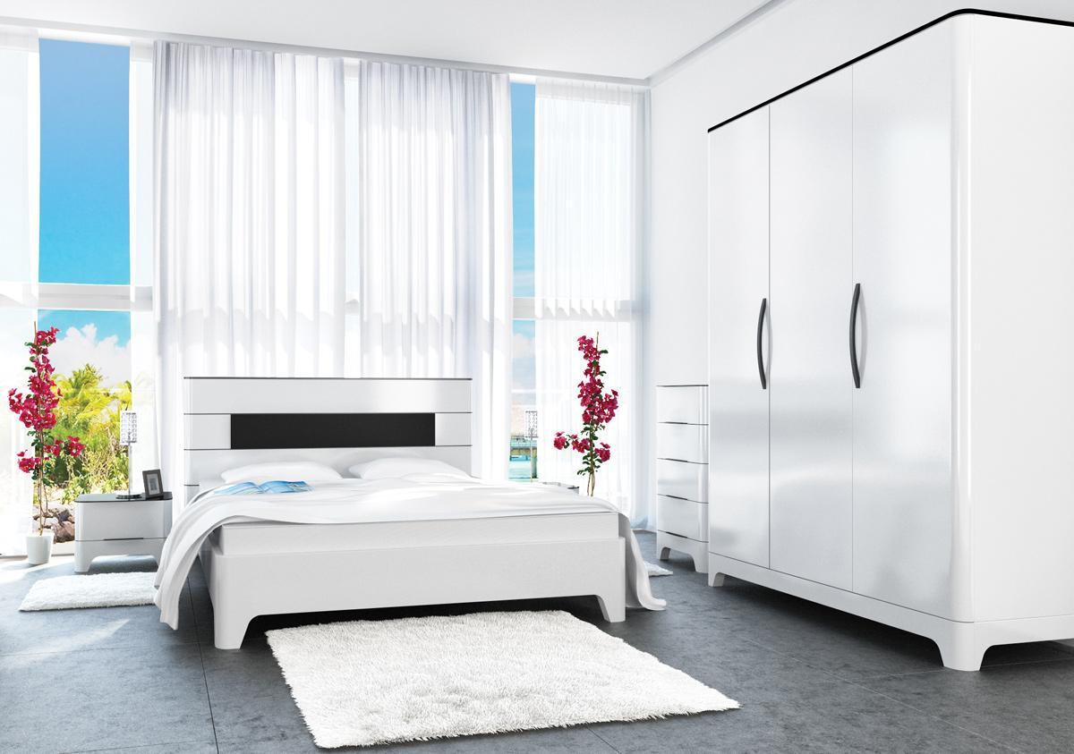 Komplett Schlafzimmer Weiß