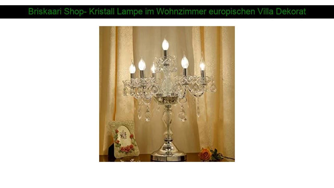 Kristall Lampen Wohnzimmer