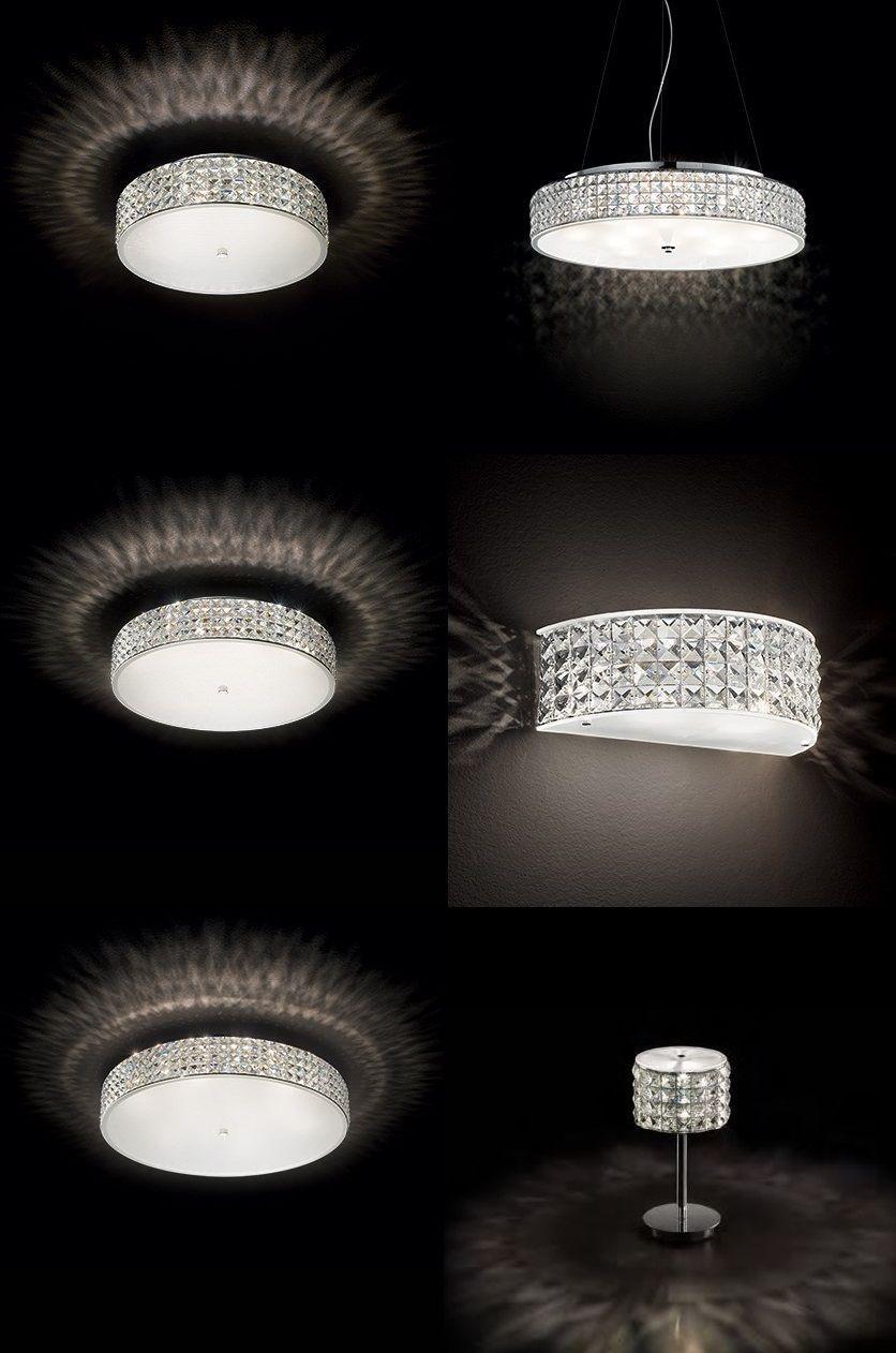 Kristall Leuchte Modern