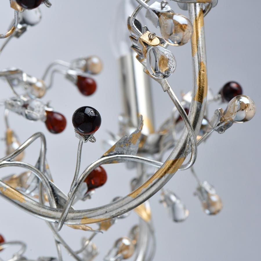 Kronleuchter Glas Bunt