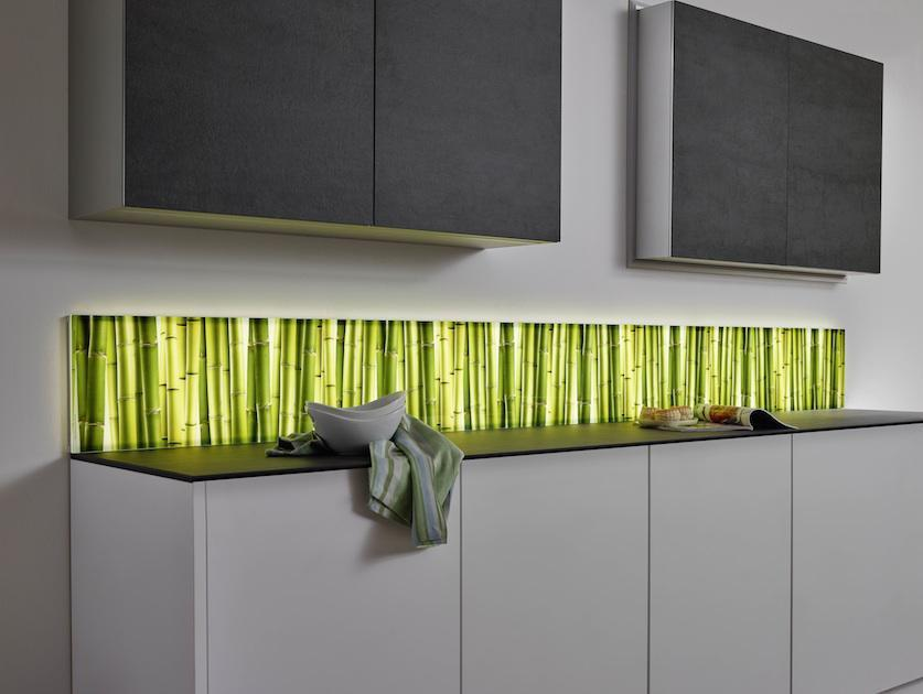 Küche Glasrückwand Motiv