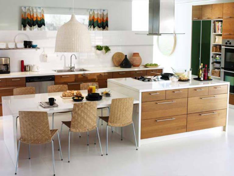 Küche Ikea Holz