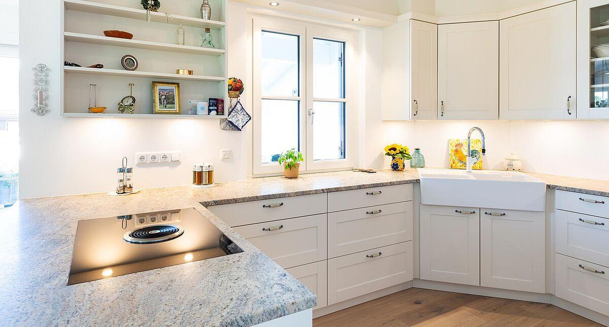 Küche L Form Mit Kochinsel