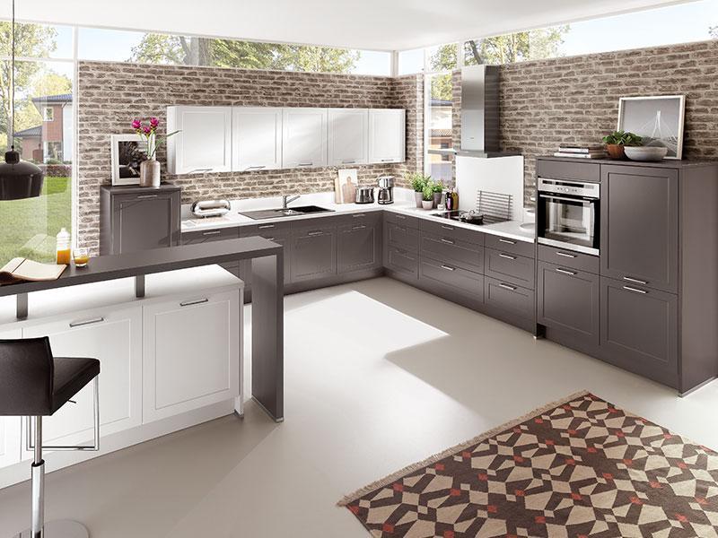 Küche L Form Mit Theke