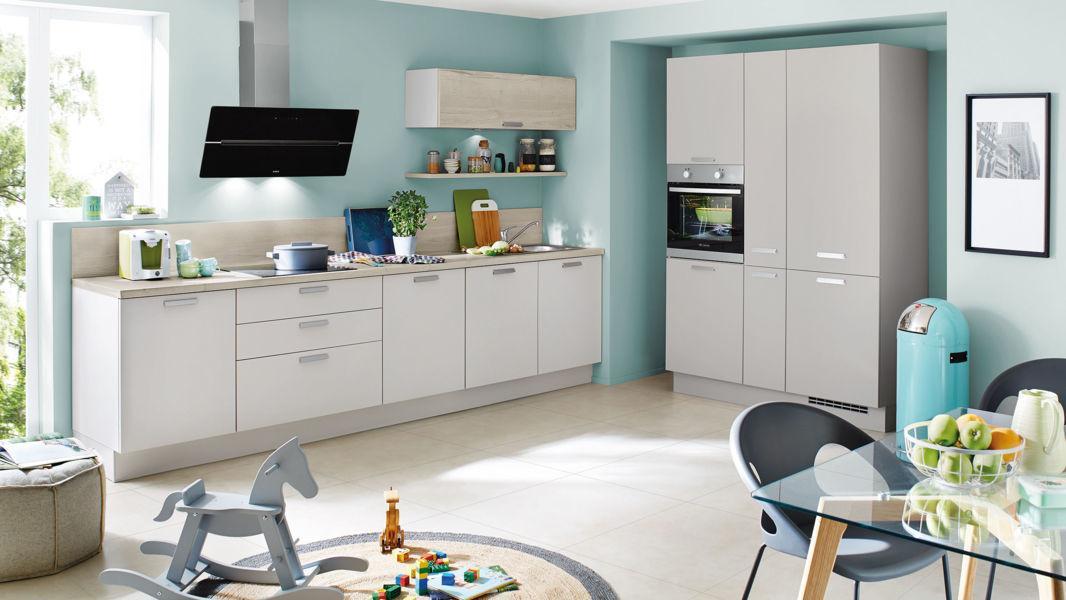 Küche Nobilia Grau