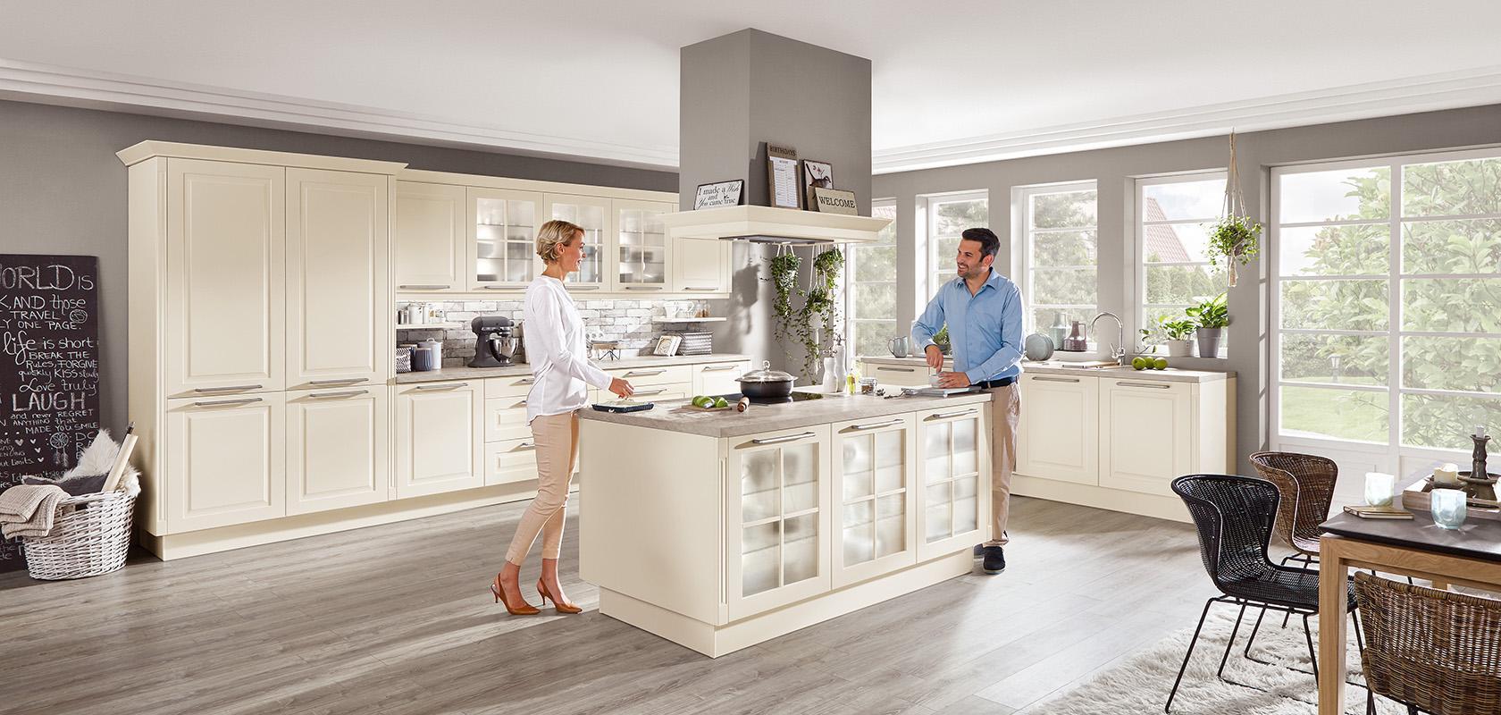 Küche Nobilia Magnolia