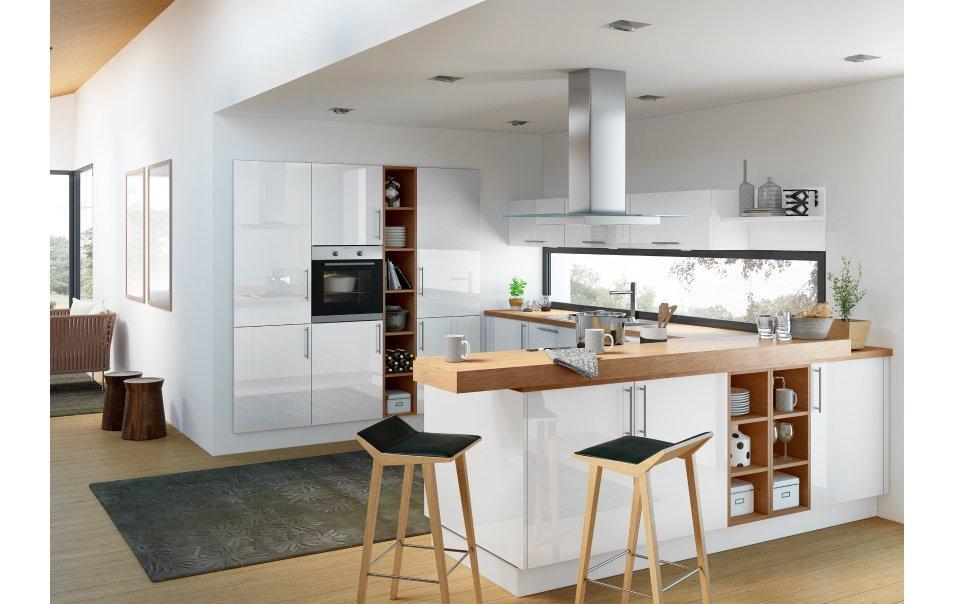 Küche U Form Mit Theke
