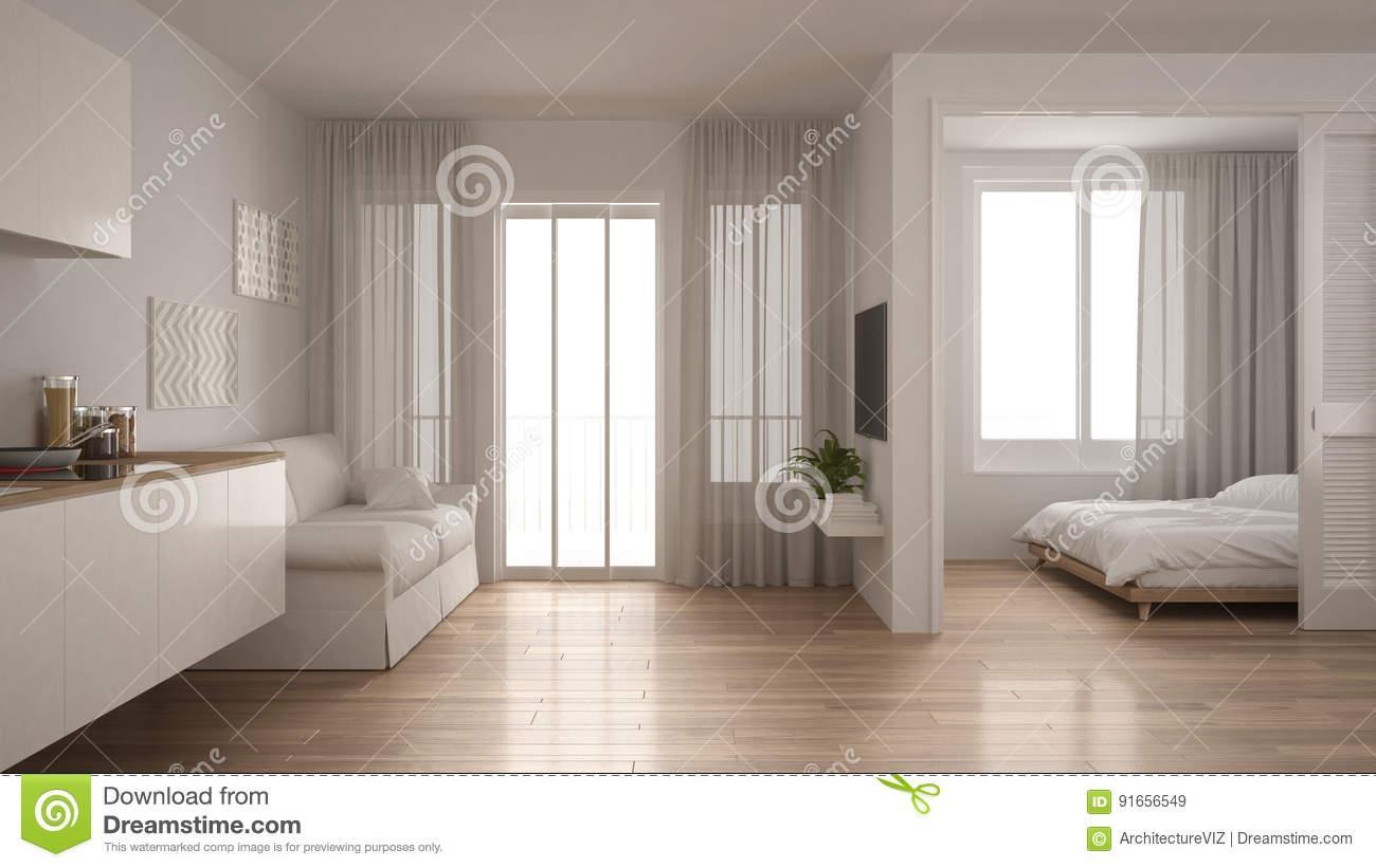 Küche Und Wohnzimmer In Einem