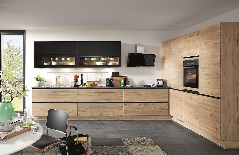 Küchen Hängeschrank Schwarz Glas