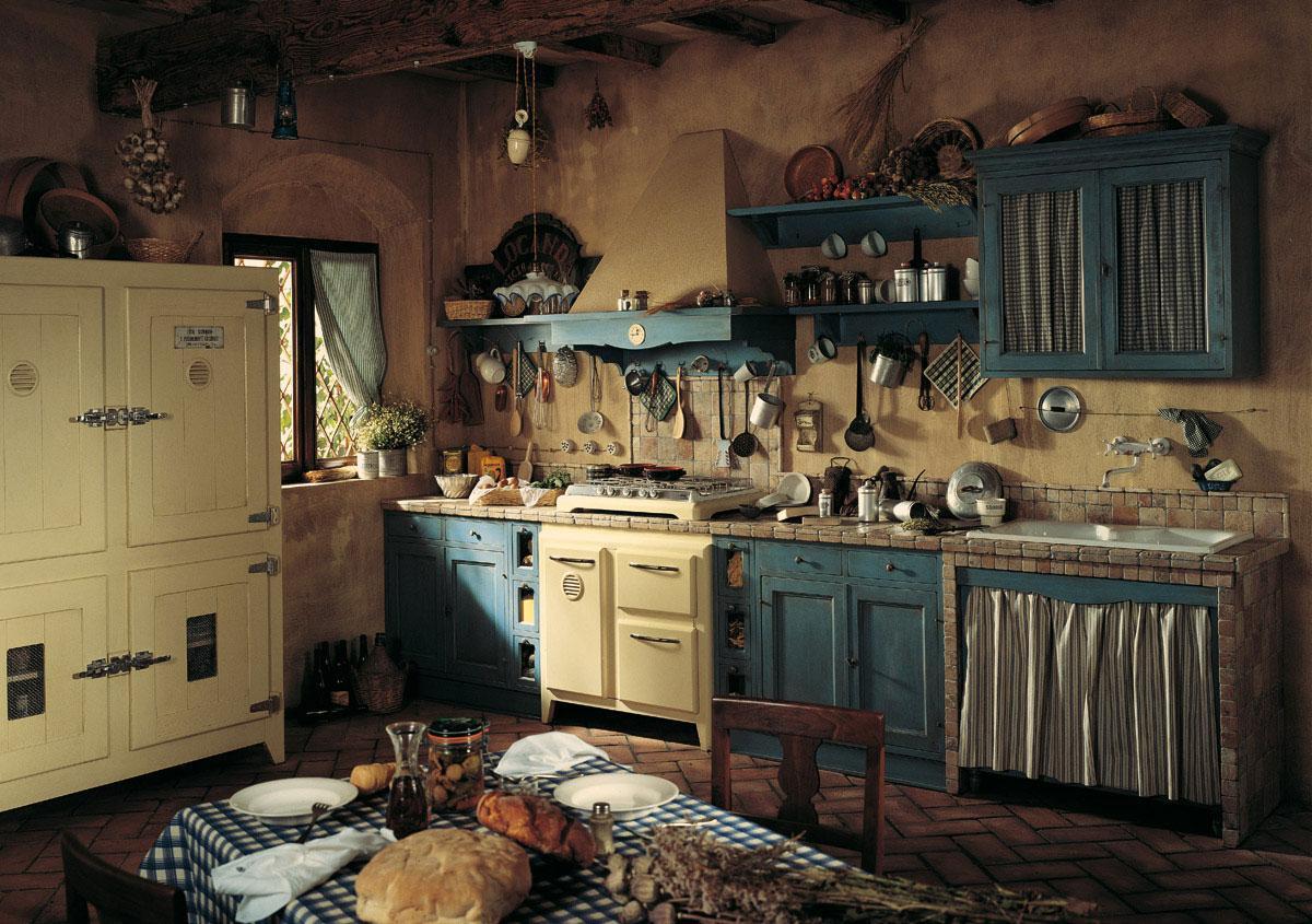 Küchen Landhausstil Mediterran