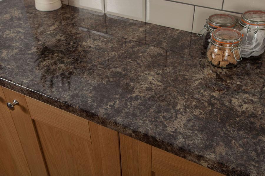 Küchenarbeitsplatte Granit Braun