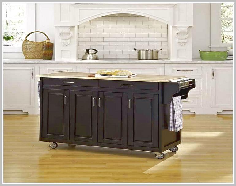 Kücheninsel Mit Granitplatte