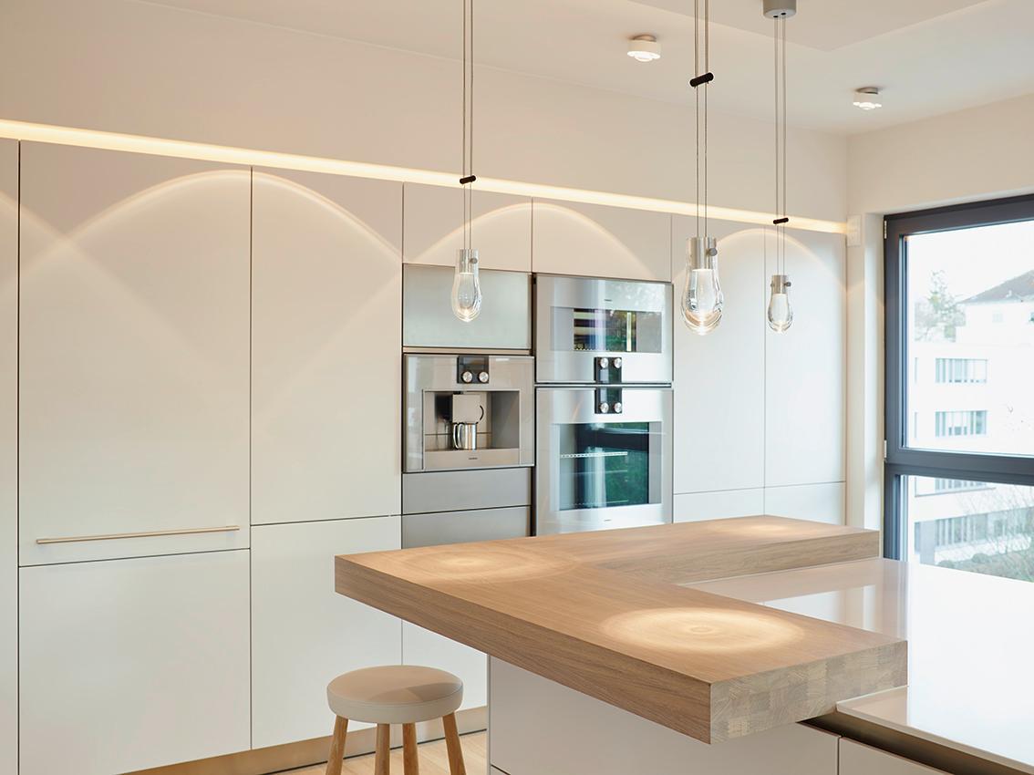Kücheninsel Mit Theke Holz
