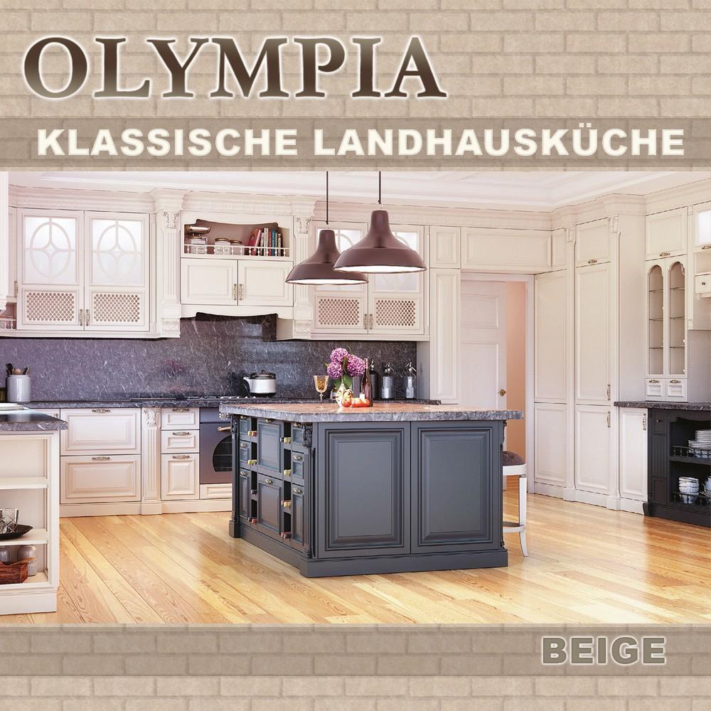 Kücheninsel Mit Theke Landhaus