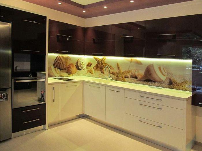 Küchenrückwand Acrylglas Beleuchtet