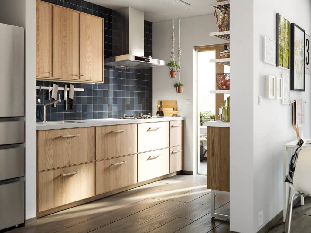 Küchenrückwand Holz Ikea