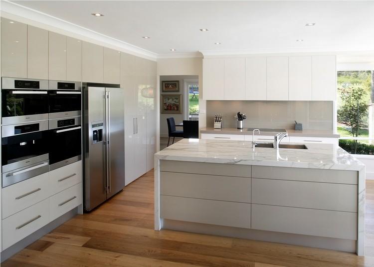 Küchenschrank Hoch Weiß