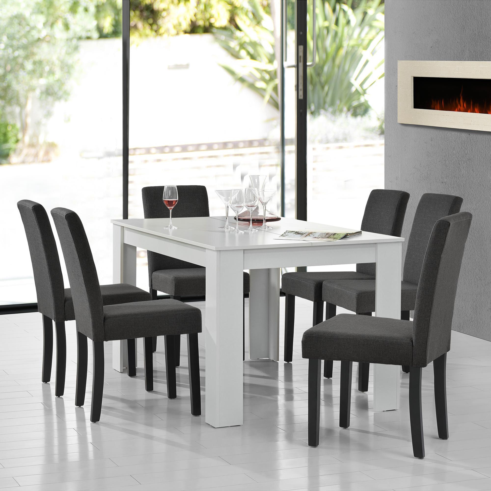 Küchentisch Mit Stühlen Grau