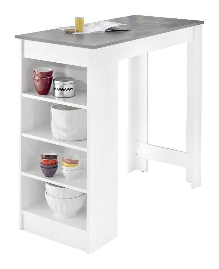 Küchenwagen Weiß Poco