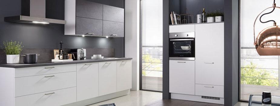Küchenzeile 250 Cm Mit Elektrogeräten Und Geschirrspüler