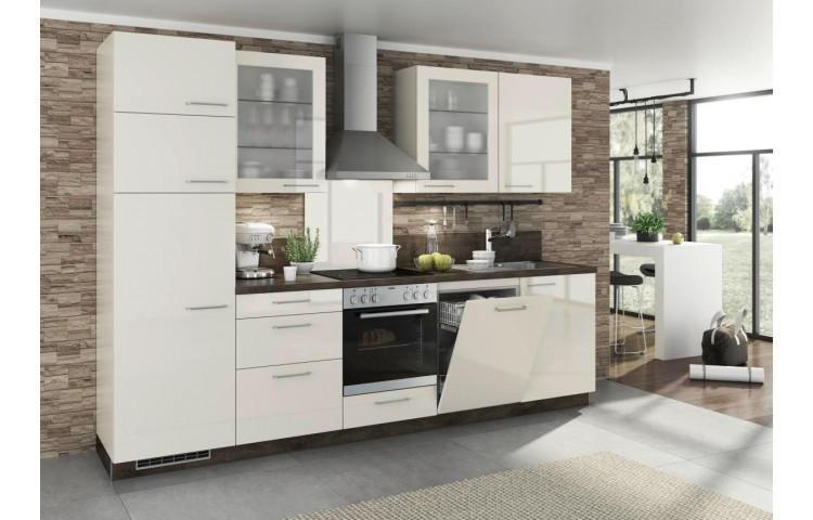 Küchenzeile 270 Cm Mit Elektrogeräten Und Geschirrspüler