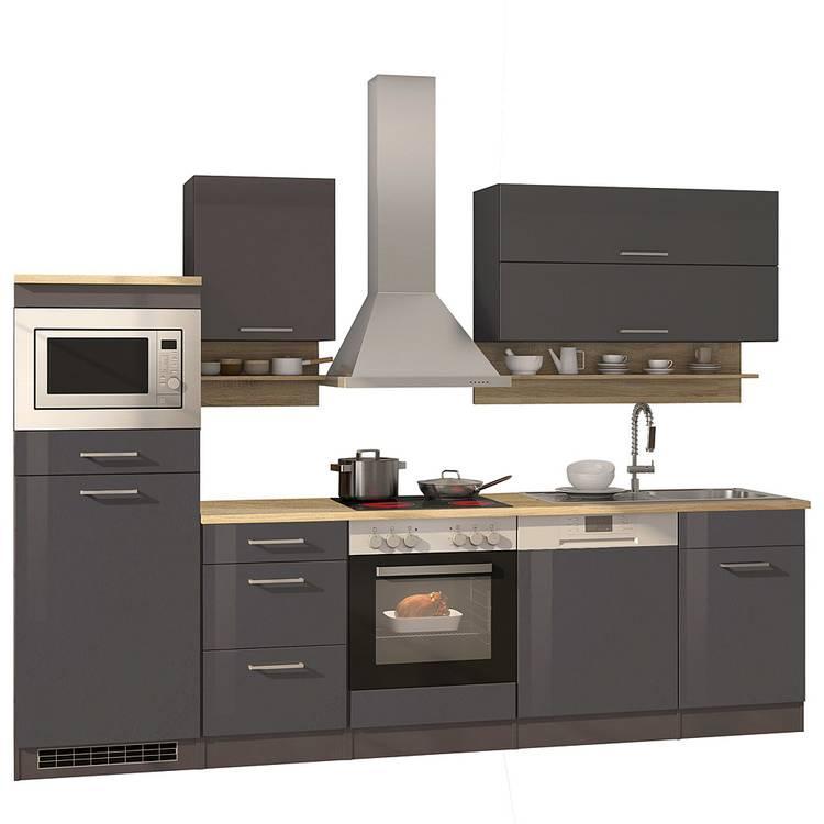Küchenzeile 280 Cm Mit E Geräten