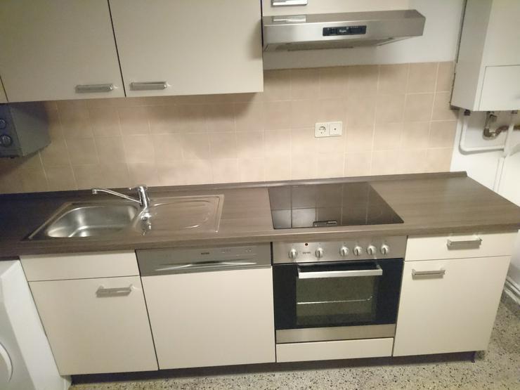 Küchenzeile Mit Elektrogeräten Und Geschirrspüler
