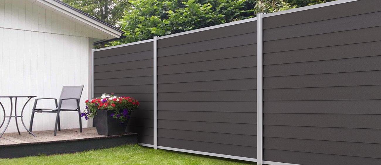 Kunststoff Sichtschutz Terrasse