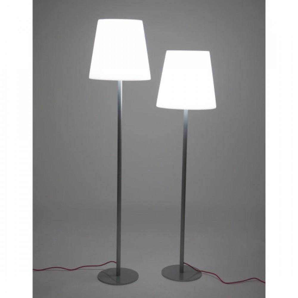 Kunststoff Stehlampe Garten