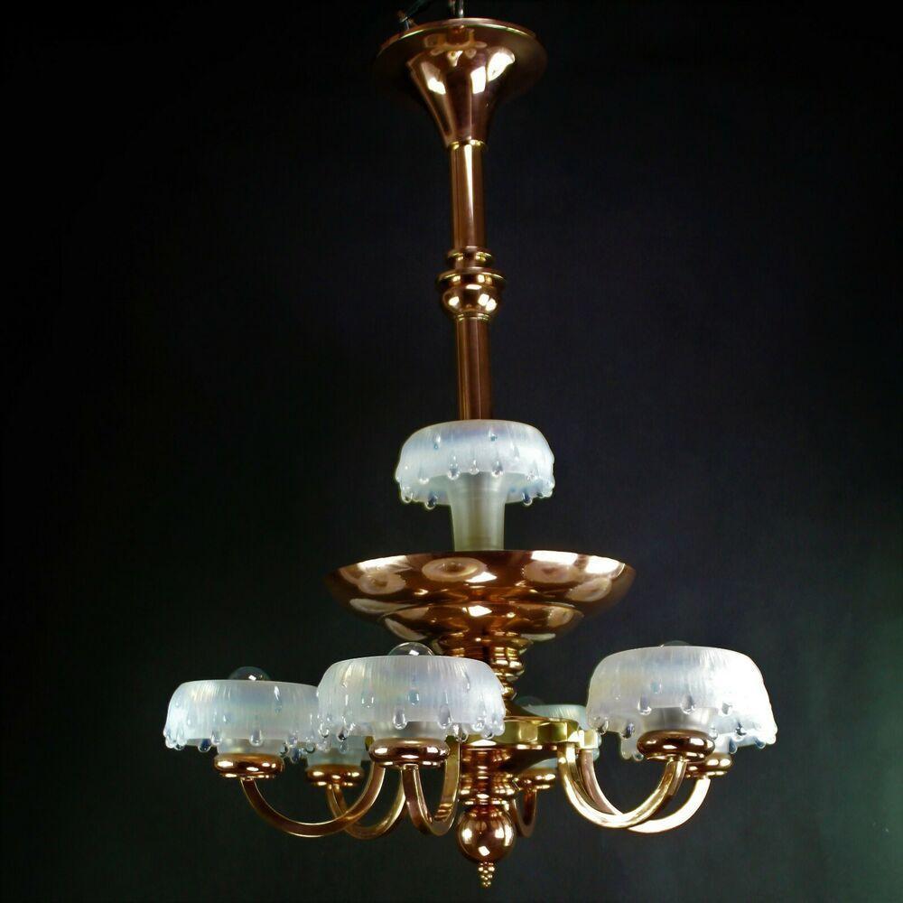 Kupfer Lampe Antik