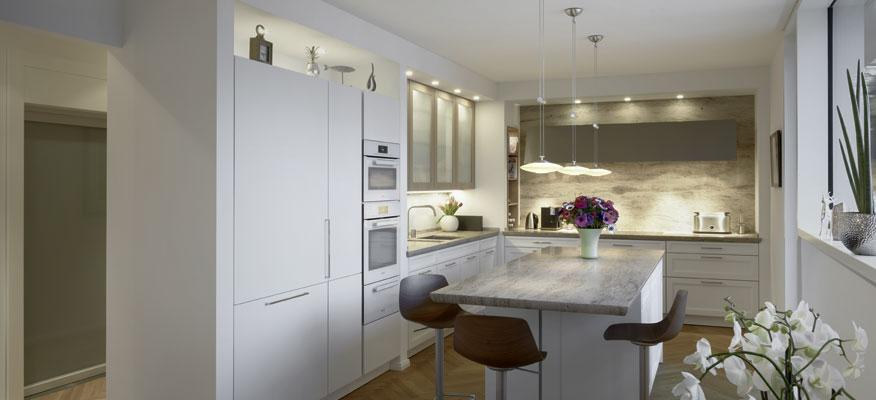 Kupfer Lampe Küche