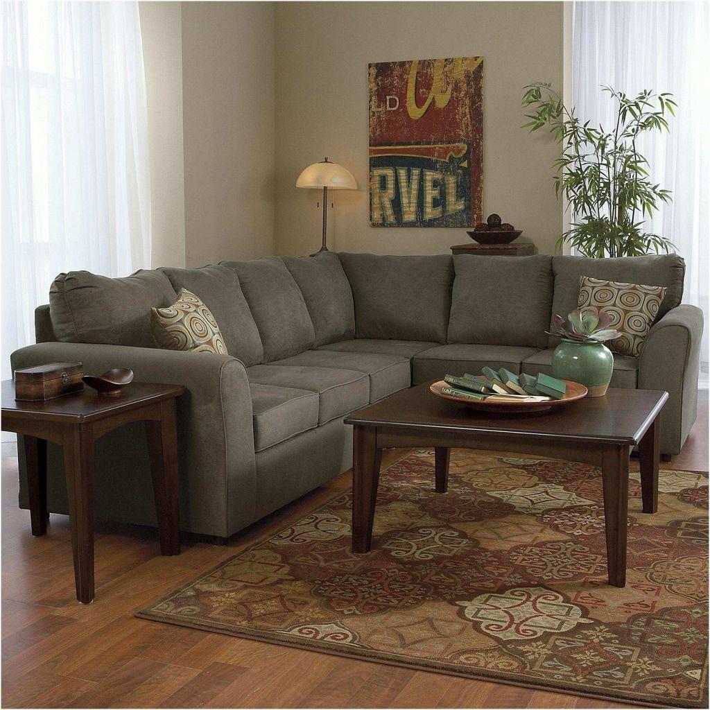L Couch Braun